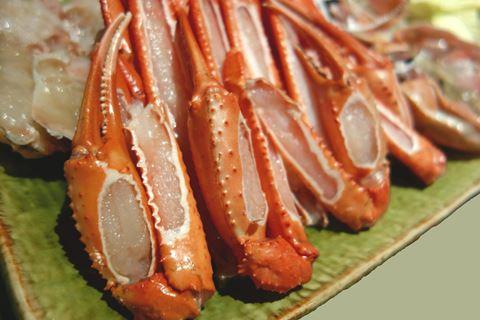 たらば蟹の料理