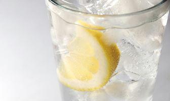 氷とレモン