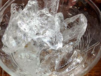 綺麗で透明な氷