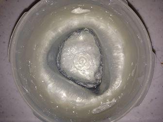 取り出した氷
