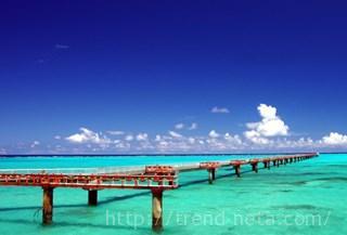 2月の沖縄の海