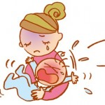 母乳で夜泣きぐずり!ティッシュで寝かせる方法は?