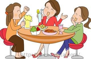 女子の食事会