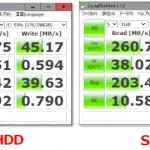 【速度比較】旧型ノートパソコンのHDDをSSDに交換した結果