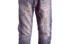 色落ちしたジーンズ
