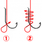 釣り針の結び方【基本系】と針結び器の実力!