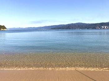 気比の松原の砂浜