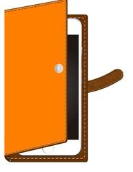 手帳型のスマホのケース