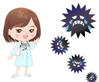 水虫と女医