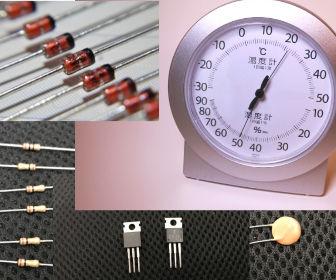 電子部品と湿度
