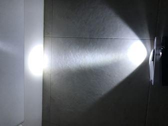 セリアのミニランタンの点灯