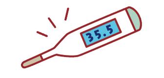 35.5度の低体温