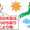【私の体験談】Yahoo!の天気予報が当たらない!大事な時はあれを見よう!