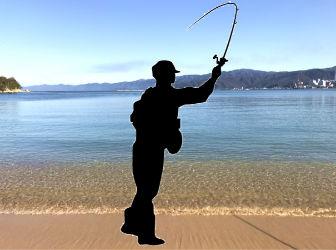 サーフ・砂浜から投げ釣り