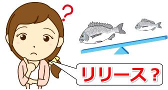 魚のリリース