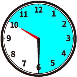 夜10時から朝6時