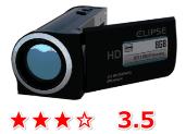 評価3.5のビデオカメラ