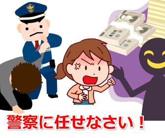 事件は警察が捜査する