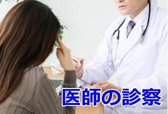 医師による診察/診断