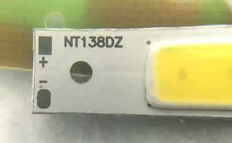 LED電極のプラスとマイナス