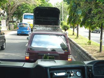 バリ島 渋滞