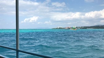 海の色の違い
