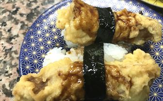回転寿司の揚げ物