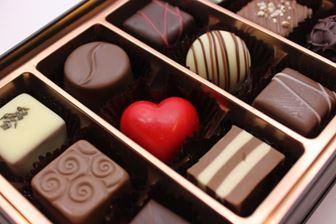 箱入りのチョコ