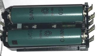 シェーバーの充電池