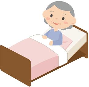 電動のベッド