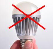 LEDはダメ