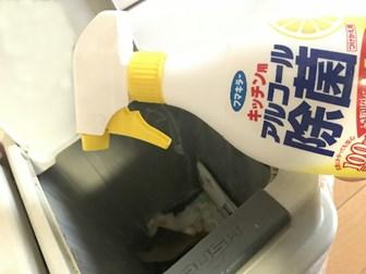ゴミ箱の除菌