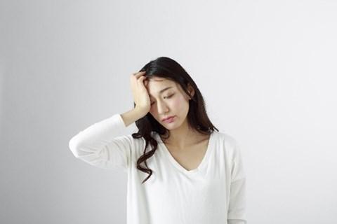 睡眠負債の女性