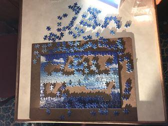 日本丸でパズル