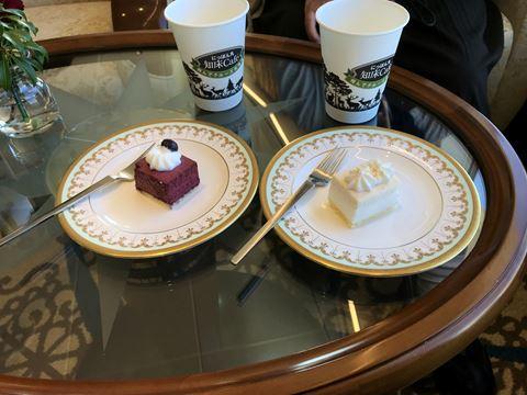 にっぽん丸クルーズのケーキ