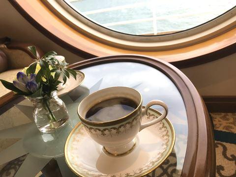 にっぽん丸クルーズのコーヒー