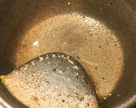 スープカレーを完食