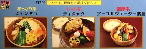 スープカレーのスープの種類