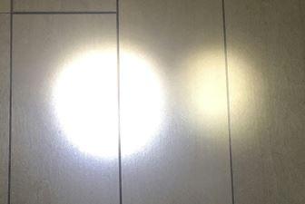 無改造と改造の明るさの違い