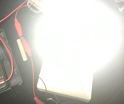 爆光のCOB クローゼットライト