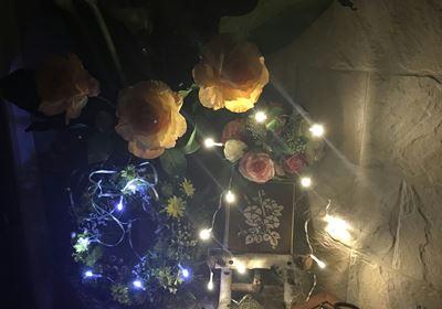 ダイソーのイルミネーション 点灯と点滅