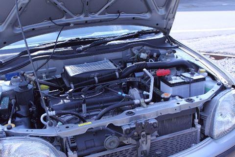 エンジンとバッテリー
