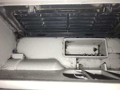 乾燥機のフィルター部分