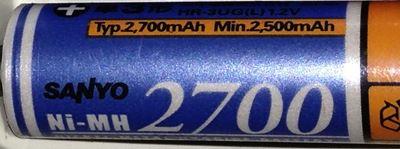 2700mAh