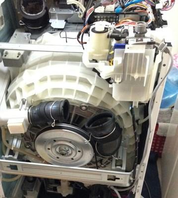 NA-VX8200R 修理の様子