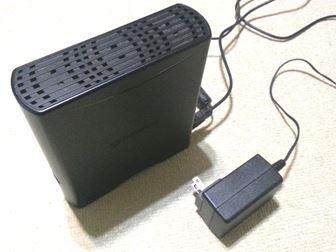 USB ハードディスク