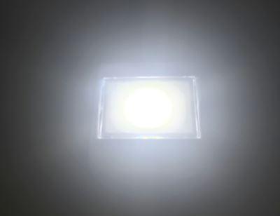 点灯した明るさ