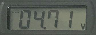 4.71V 電圧