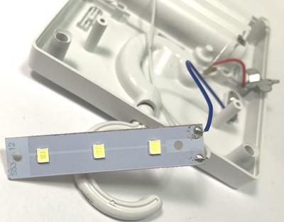 LEDスイッチライトを分解