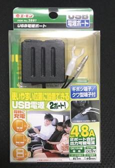エーモン 2881 USB 2ポート